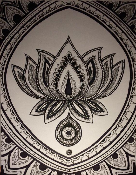 Mandalas Con Flor De Loto Significado Y Diseos Para