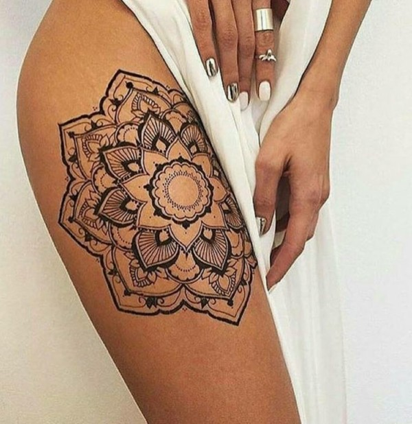 Mandalas Para Mujeres Tatuajes Y Diseños Para Colorear Mandalas