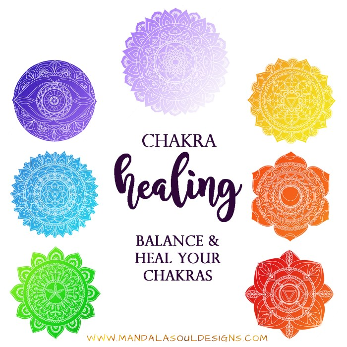 Chakra Healing - Balance and Heal your Chakras || Mandala Soul Designs