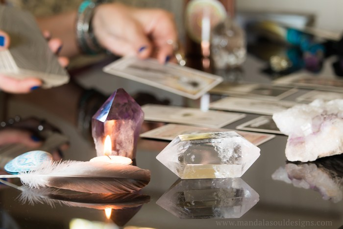 Tarot & Divination    Crystals, Tarot Cards, Tarot Reading    Mandala Soul Designs