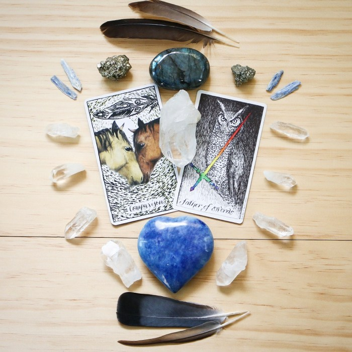 Comparison and Father of Swords Oracle and Tarot Reading || Mandala Soul Designs