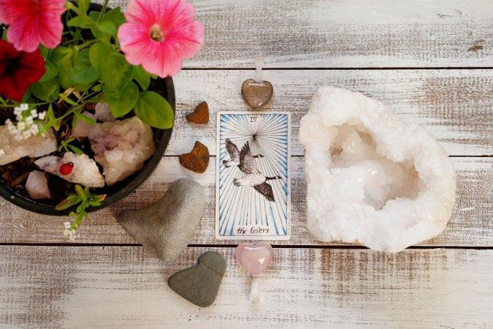 Lovers Tarot Card - The Unknown Tarot Deck || Mandala Soul Designs
