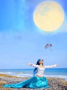 баннер луна