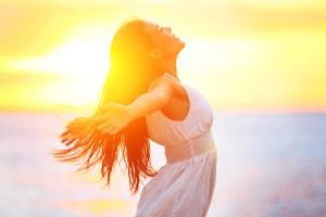 солнце радость