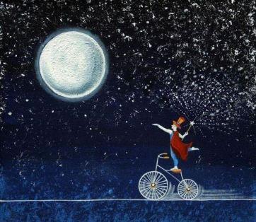 луна и волшебник