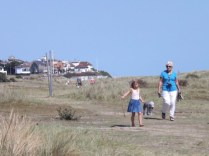 Walk along Southwold dunes, to the town