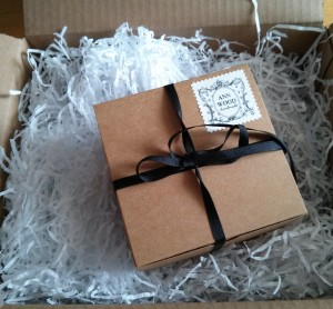 Lovely packaging, as always.