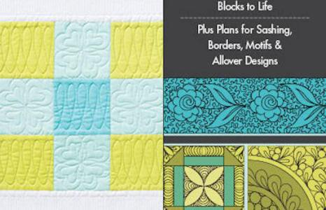 Hoppin' for Amanda Murphy's Free-Motion Quilting Idea Book