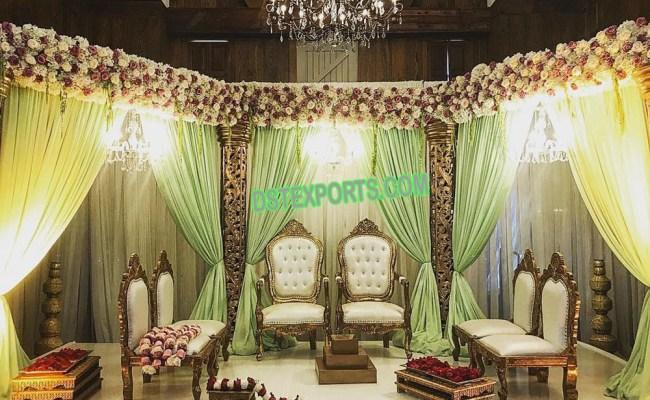 Beautiful Indian Wedding Mandap Chairs Mandap Exporters