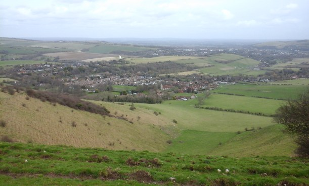 towns and villages nestled in the hills