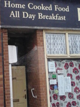 All Day Breakfast! Closed...