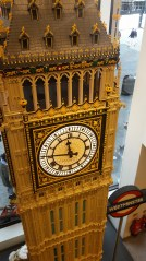 Lego Clock Tower (showing the correct time more than twice a day)