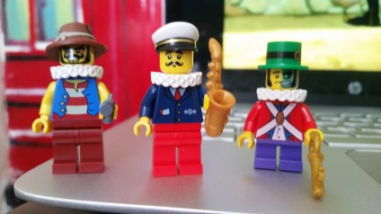 At the Lego shop you could pick and mix to make 3 little minifigs