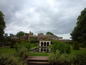 Queen Mother's garden, looking back from the other side