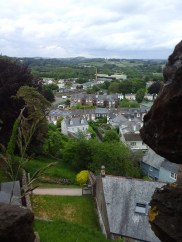 View from the top of the Keep to town