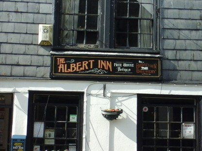The Albert Inn :D There was a picture of Einstein on the menu - didn't go in, just looked