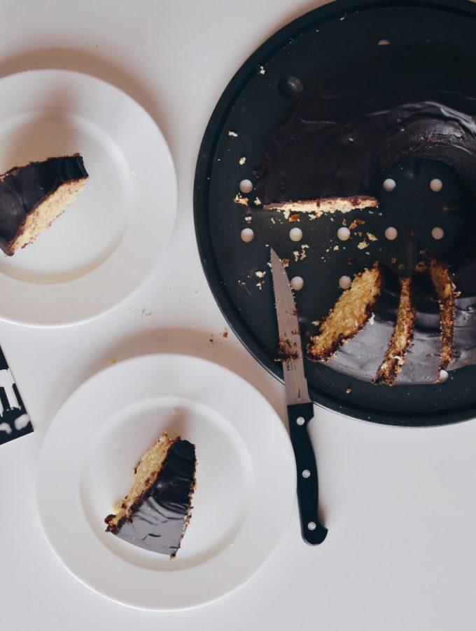 Orange & chocolate Bundt cake