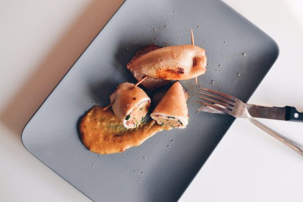 Stuffed squids