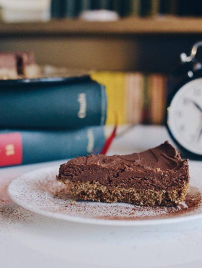 Cheesecake me çokollate, pa pjekje