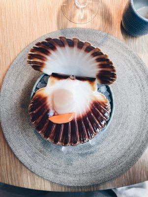 Fresh Norwegian scallop