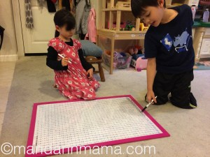 Kids using Mandarin Poster 1