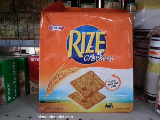 Fake Orange Kraft Crackers