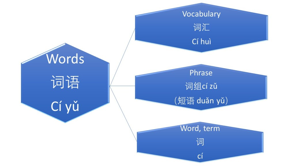The difference of Words, Vocabulary, Phrase and Sentence in Mandarin – MANDARINWOW