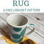 Mug Rugs A Free Crochet Pattern Manda S Crafty Corner