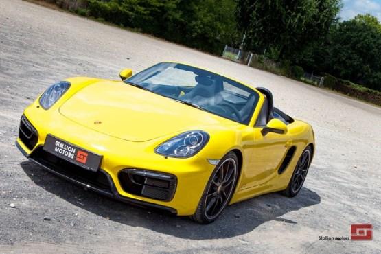 Porsche Boxster GTS - Stallion Motors