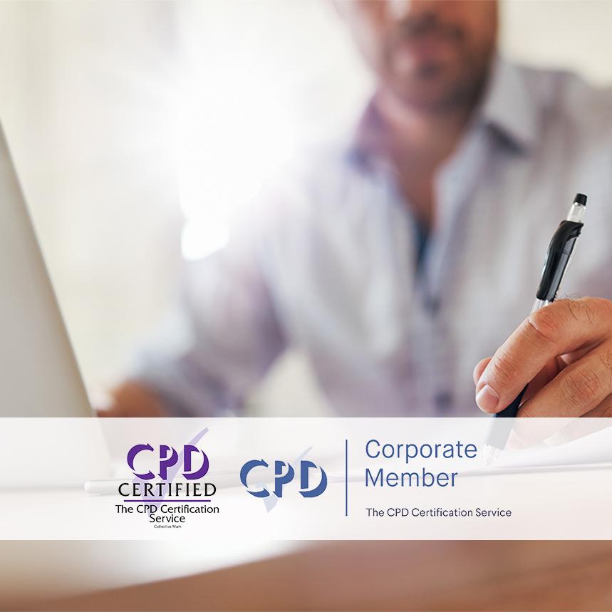 Statutory and Mandatory Training - Online Training Courses - Mandatory Compliance -