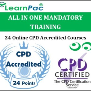 All In One Mandatory Training – 24 CPD Accredited & UK CSTF Aligned E-Learning Courses - MTG