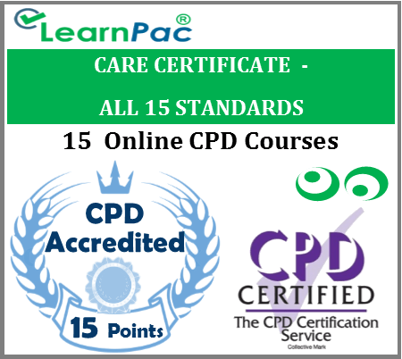 Care Certificate Training Courses - 15 Care Certificate Standards