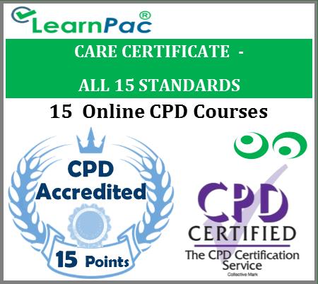 Care Certificate Training Courses – 15 Care Certificate Standards 1
