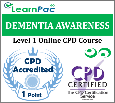 Dementia Awareness Training Course – Level 1 – Online CPD Accredited Training Course 1