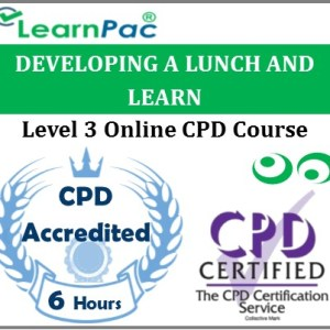 Developing A Lunch And Learn – Online Training & Certification