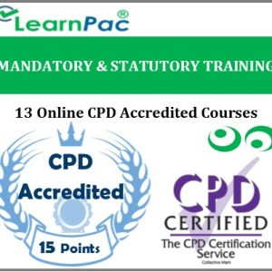 Mandatory & Statutory Training - 13 CPD Accredited Online Training Courses - MTG