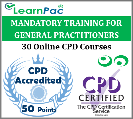 Mandatory Training for General Practitioners – 30 CPD Accredited Training Courses 1