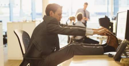 Sitting down for too long may be causing 70,000 UK deaths a year -The Mandatory Training Group-