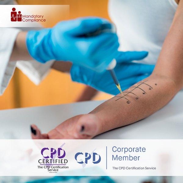 Anaphylaxis Awareness Training – Level 2 – Online Training Course – CPDUK Accredited – Mandatory Compliance UK –