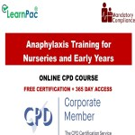 Anaphylaxis Training for Nurseries and Early Years – Mandatory Training Group UK –