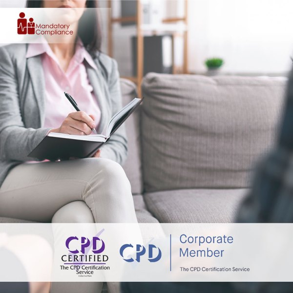 Awareness of Mental Health, Dementia and Learning Disability – Level 1 – Online Training Course – CPDUK Accredited – Mandatory Compliance UK –