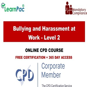 Bullying and Harassment at Work - Level 2 - Mandatory Training Group UK -