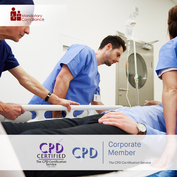 CSTF Moving and Handling (Patient Handling) – Online Training Course – CPD Accredited – Mandatory Compliance UK –