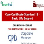 Care Certificate Standard 12 – Basic Life Support – Mandatory Training Group UK –
