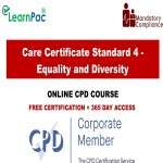 Care Certificate Standard 4 - Equality and Diversity - Mandatory Training Group UK -
