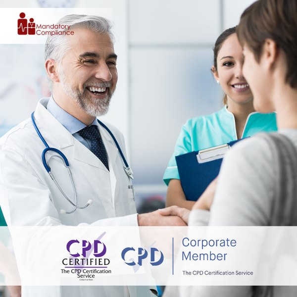 Dignity, Privacy and Respect – Level 2 – Online Training Course – CPDUK Accredited – Mandatory Compliance UK