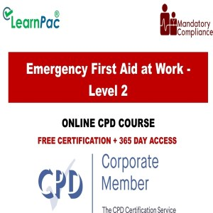 Emergency First Aid at Work - Level 2 - Mandatory Training Group UK -