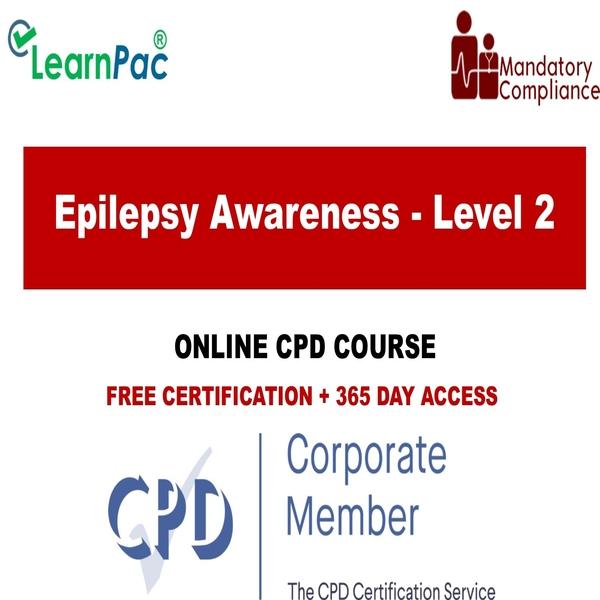 Epilepsy Awareness – Level 2 – The Mandatory Training Group UK –