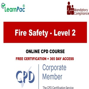 Fire Safety - Level 2 - Mandatory Training Group UK -