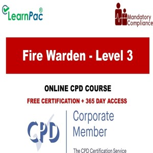 Fire Warden - Level 3 - The Mandatory Training Group UK -